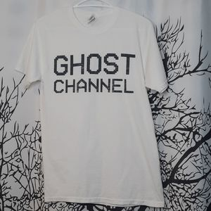 Ghost Channel White T-shirt